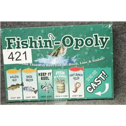 Fishin-Opoly Board Game