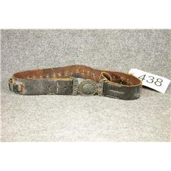 Boer War Brass Belt and Buckle