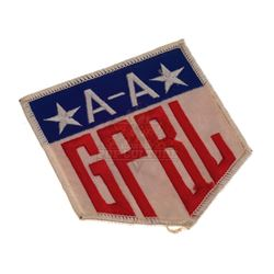 """A League of Their Own – """"Girls Professional Baseball League"""" Patch - IV298"""