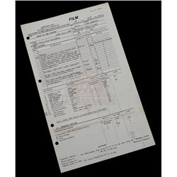 Back to the Future - Original Production Call Sheet 76th Day of Filming) - IV203