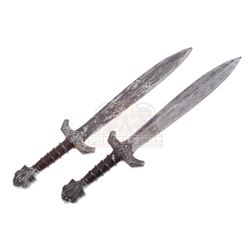 Chronicles of Narnia: The Lion, the Witch and the Wardrobe, The – Black Dwarf Swords - IV338
