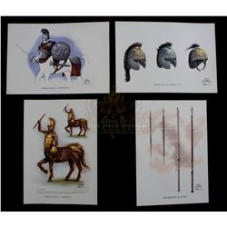Chronicles of Narnia: The Lion, the Witch and the Wardrobe, The – Weta Workshop Design Prints - IV24