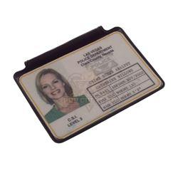 CSI: Crime Scene Investigation – Catherine Willows' (Marg Helgenberger) Police ID Badge - IV354