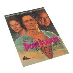 Don Juan DeMarco - Autographed Promo Flyer -  IV156