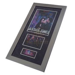 Jessica Jones (TV) – Framed Cast Signed Poster - IV335