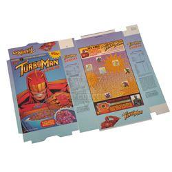 Jingle All The Way - Turboman Cereal Box - IV244