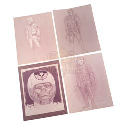 Last Starfighter, The – Character & Costume Design Prints - IV319