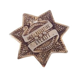 Priest – Hicks' (Cam Gigandet) Sheriff Badge - IV222