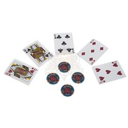 "Rush Hour 2 - ""Red Dragon"" Casino Chips & Playing Cards - IV304"