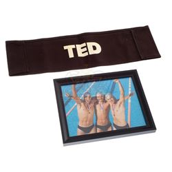 Ted – Production Used Chair Back & Set Photograph  - IV177