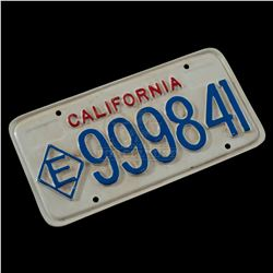 Terminator 2: Judgment Day - Police License Plate - IV171