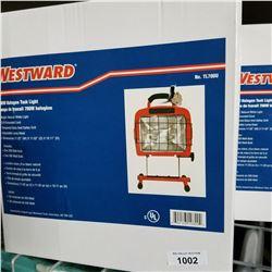 2 NEW WESTWARD HALOGEN TASK LIGHT 700W