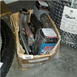 BOX LOT OF POWER TOOLS