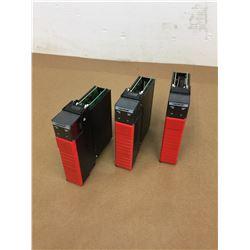 (3) Allen Bradley 1756-LSP B Guardlogix 55LSP Processor Module