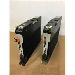 (2) Allen Bradley 1394-AM07 AC SERVO CONTROLLER AXIS MODULE 5KW