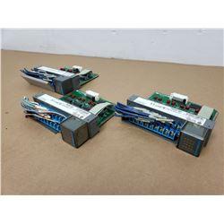 (3) Allen Bradley 1746-1B16 Input Module