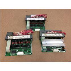 (3) Allen Bradley 1746-OA16 Output Module