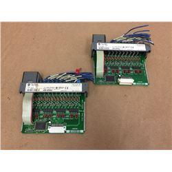 (2) Allen Bradley 1746-IB16 Input Module