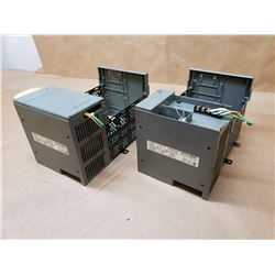 (2) Allen-Bradley 1746-P2 Power Supply with 1746-A4 Slot Rack