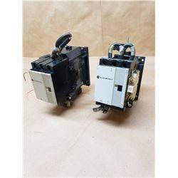 (2) Allen-Bradley 100-A60NZ*3 Contactor