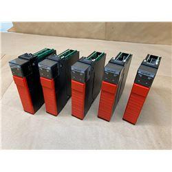 (5) Allen-Bradley 1756-LSP Gaurdlogix 55LSP Processors