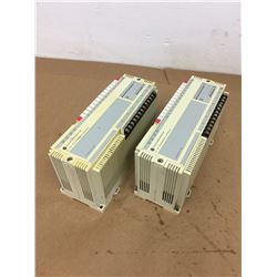 (2) Allen Bradley 1745-E101 SLC 100 EXPANSION UNIT