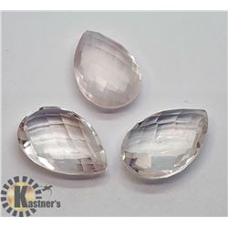 GENUINE ROSE QUARTZ (15CT)