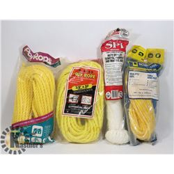 FLAT OF ASSORTED ROPE