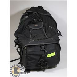 LOWEPRO CAMERA BACKPACK WITH LAPTOP STORAGE