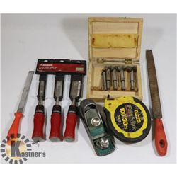 LOT OF ASSORTED TOOLS INCLUDING,
