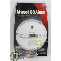 NEW ATWOOD CO ALARM WITH BATTERIES
