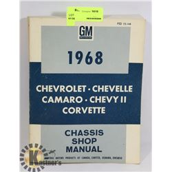 1968 GM CHASSIS SHOP MANUAL