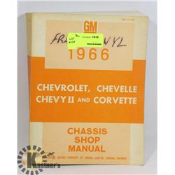 1966 GM CHASSIS SHOP MANUAL