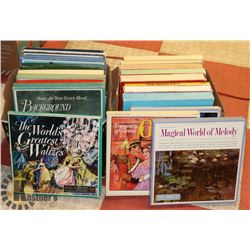 2 BOXS OF READERS DIGEST BOX SETS RECORDS