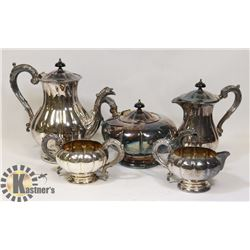 SILVER PLATED TEA / COFFEE SET