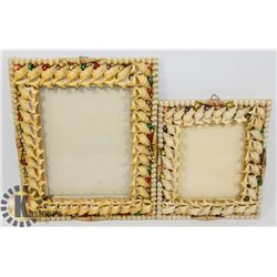 LOT OF ASSORTED PICTURE FRAMES, 8X10 AND 4X6