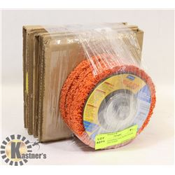 PAF OF 4 SANDING BACKING PADS AND 3 RAPID STRIP