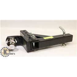 """10"""" ADJUSTABLE 5000LB RECEIVER HITCH WITH 2 5/16"""
