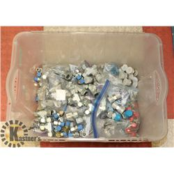 SWAGELOK FITTINGS-OVER 300 ASSORTED