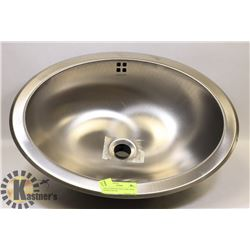 NEW STAINLESS STEEL SINK WITH OVERFLOW PAN