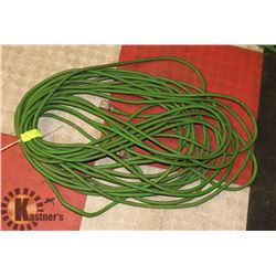 100' EXTENSION CORD, GREEN.