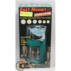 EASY MONEY MOTORIZED COIN BANK