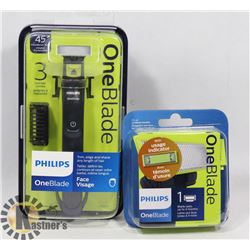 PHILIPS ONE BLADE RAZOR WITH REFILLS