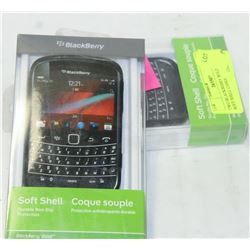 TWO BLACKBERRY BOLD 9930/9900 SOFT SHELL CASES