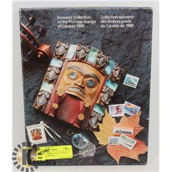 1989 SOUVENIR COLLECTION OF POSTAGE STAMPS