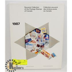 1987 SOUVENIR COLLECTION OF POSTAGE STAMPS