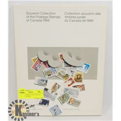 1986 SOUVENIR COLLECTION OF POSTAGE STAMPS