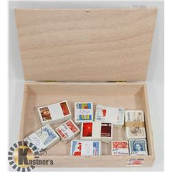 CIGAR BOX FILLED WITH 10X 100 BUNDLED AND