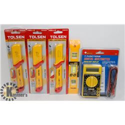 SET OF 3 TOLSEN INSULATED CABLE