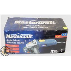 MASTERCRAFT 4 1/2 11,000 RPM ANGLE GRINDER